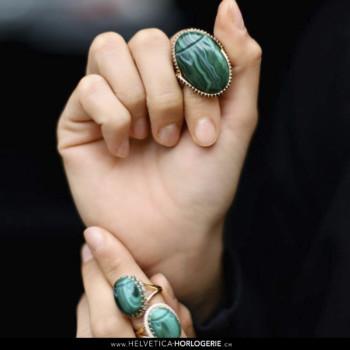 Rita & Zia beetle rings