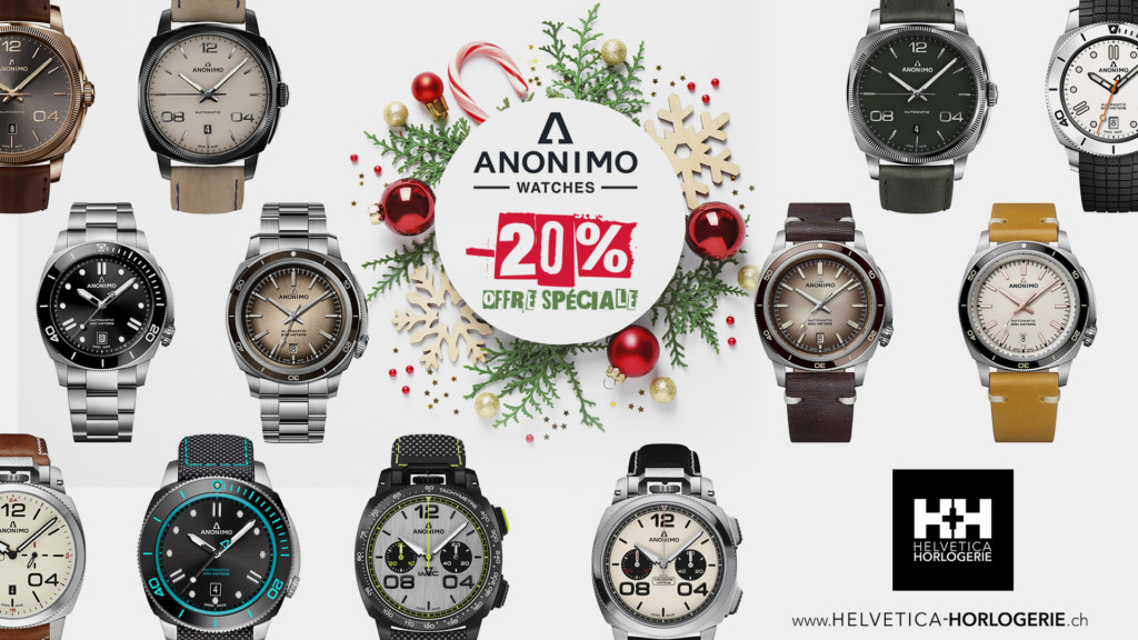 Promotion Anonimo Watches