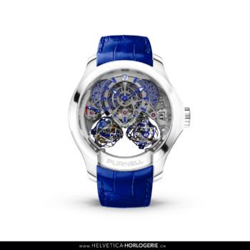 Purnell CP03 Titanium Blue Sapphire